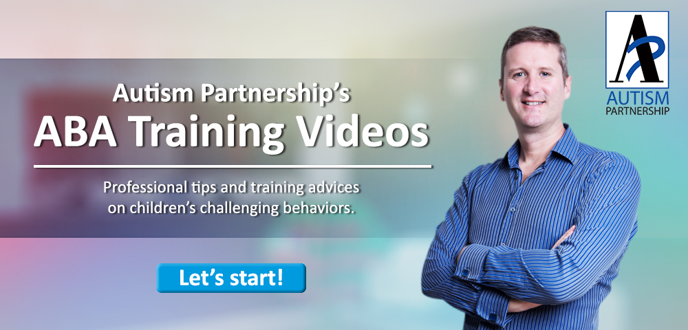 Autism Partnership ABA Training video